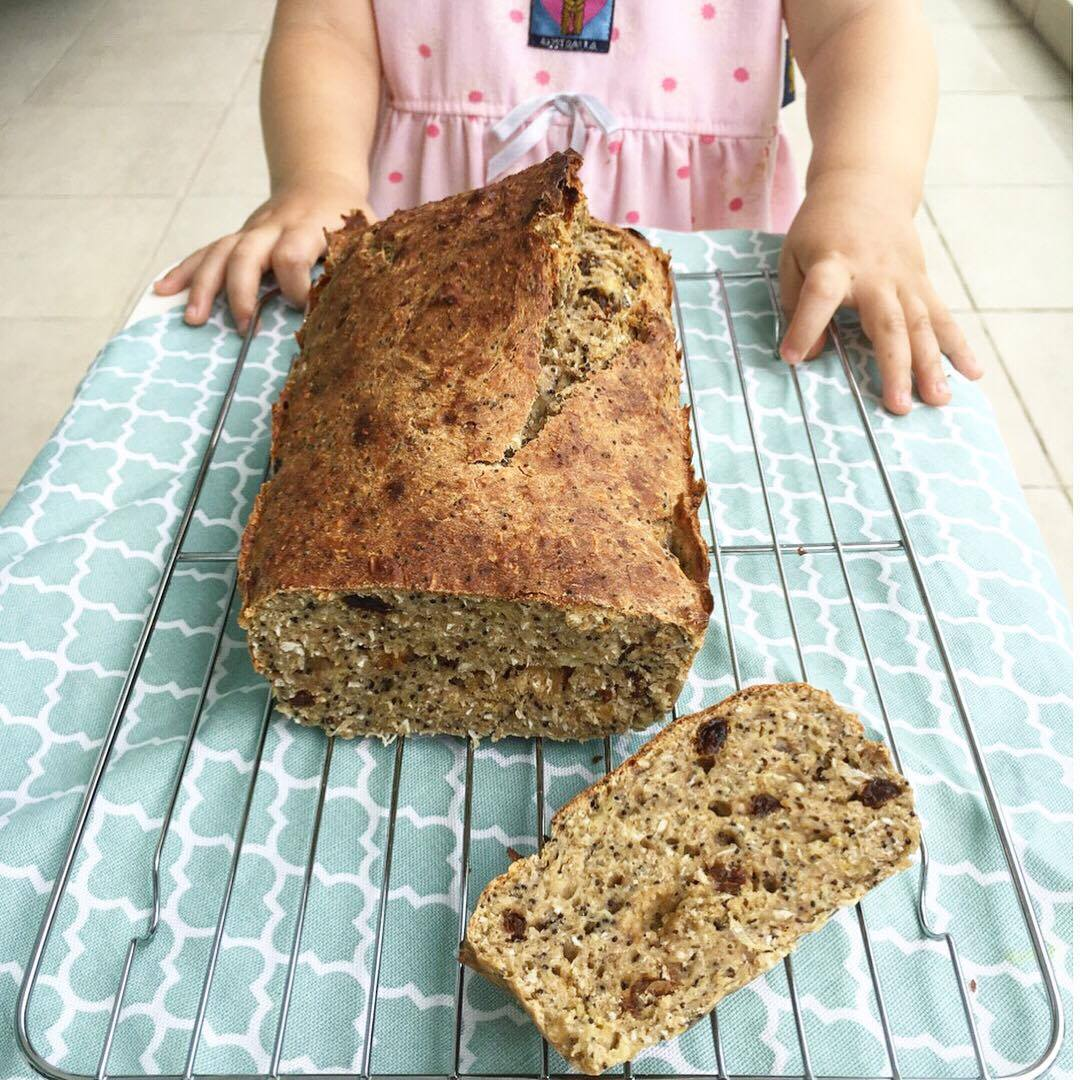 Avas Healthy Breakfast Loaf