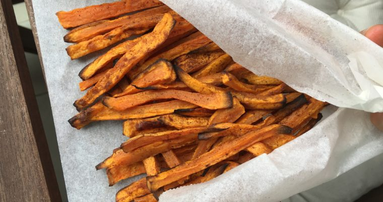 Cinnamon Roasted Sweet Potato